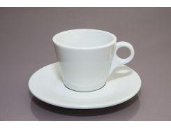 "Чашка с блюдцем ""Lavazza"" (150мл) F2433+F2434 GLORIA HORECA"
