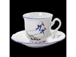 Чашка с блюдцем 155 ( 230мл ) 12пр./6п . Constance 00000000445 THUN
