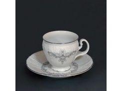 Чашка с блюд . выс. н / н 160 ( 240мл ) 12пр./6п . bernadotte Thun фарфор 00000001011