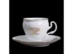 Чашка с блюд . выс. н / н 115 ( 90мл ) 12пр./6п . bernadotte Thun фарфор 00000003663
