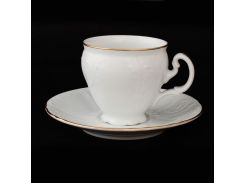 Чашка с блюд . выс. н / н 140 ( 170мл ) 12пр./6п . bernadotte Thun фарфор 00000000681