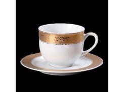 Чашка с блюдцем 115 ( 110мл ) 12пр./6п . opal Thun фарфор 00000001569