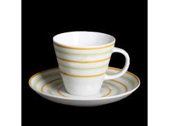 Чашка с блюд . выс. 135 (100 мл ) 12пр./6п . tom Thun фарфор 00000001396
