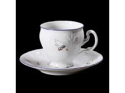 Чашка с блюд . выс. н / н 140 ( 170мл ) 12пр./6п . bernadotte Thun фарфор 00000003205