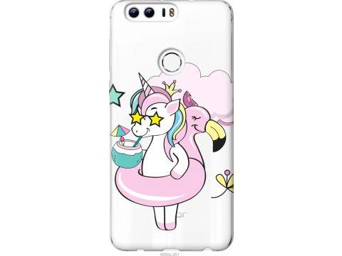 Чехол на Huawei Honor 8 Crown Unicorn (4660u-351-22700)