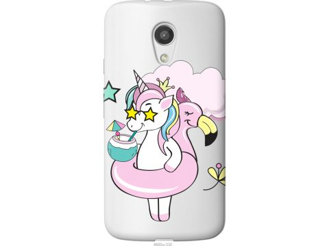Чехол на Motorola Moto G2 Crown Unicorn (4660u-330-22700)