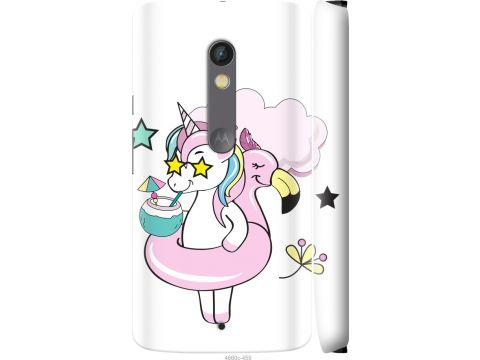 Чехол на Motorola Moto X Play Crown Unicorn (4660c-459-22700)