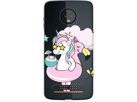 Чехол на Motorola Moto Z3 Play Crown Unicorn (4660u-1393-22700)