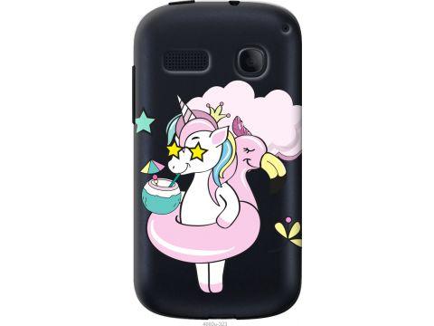 Чехол на Alcatel One Touch Pop C3 4033D Crown Unicorn (4660u-323-22700)