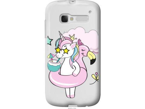 Чехол на Alcatel One Touch Pop C5 5036D Crown Unicorn (4660u-324-22700)