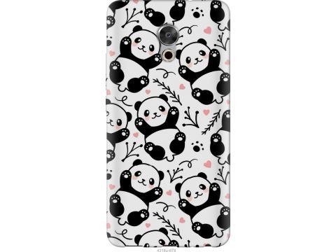 Чехол на Meizu Pro 6 Plus Панды (4318u-678-22700)
