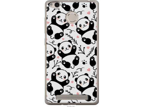 Чехол на Xiaomi Redmi 3 Pro Панды (4318u-341-22700)