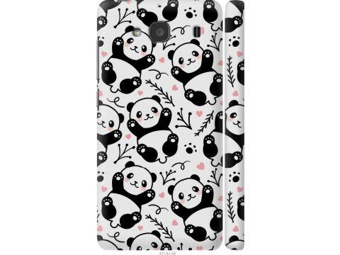 Чехол на Xiaomi Redmi 2 Панды (4318c-98-22700)
