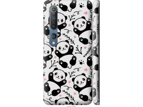Чехол на Xiaomi Mi 10 Pro Панды (4318m-1870-22700)