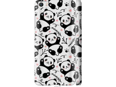 Чехол на Xiaomi Mi5 Панды (4318c-180-22700)