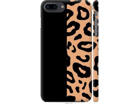 Чехол на iPhone 7 Plus Пятна леопарда (4269c-337-22700)