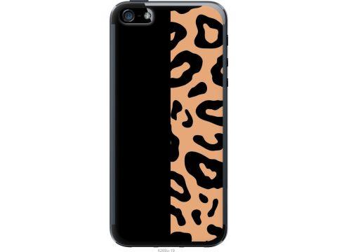 Чехол на iPhone 5s Пятна леопарда (4269u-21-22700)