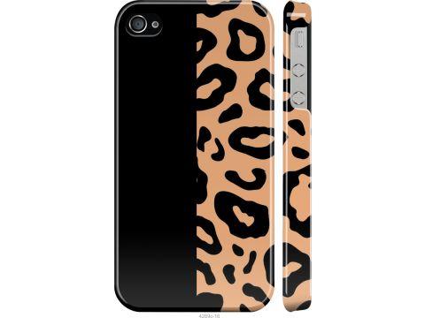Чехол на iPhone 4s Пятна леопарда (4269m-12-22700)