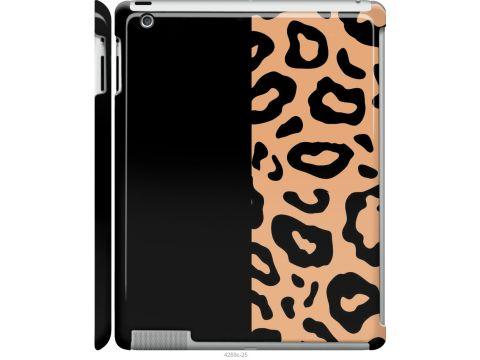 Чехол на iPad 2/3/4 Пятна леопарда (4269m-25-22700)