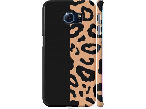 Чехол на Samsung Galaxy S6 Edge G925F Пятна леопарда (4269m-83-22700)