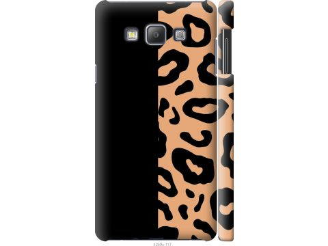 Чехол на Samsung Galaxy A7 A700H Пятна леопарда (4269c-117-22700)