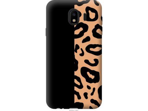 Чехол на Samsung Galaxy J4 2018 Пятна леопарда (4269u-1487-22700)