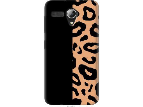 Чехол на Lenovo A606 Пятна леопарда (4269u-231-22700)