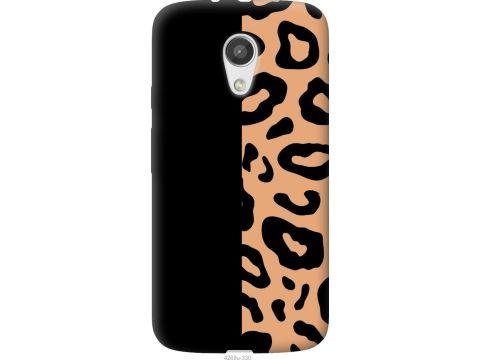 Чехол на Motorola Moto G2 Пятна леопарда (4269u-330-22700)