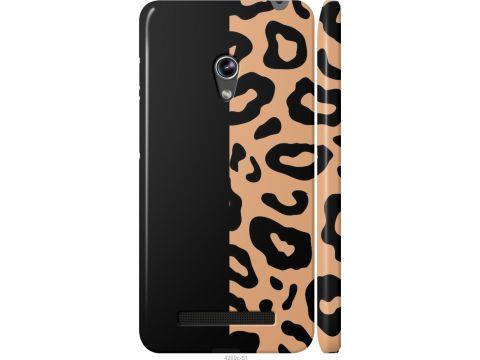 Чехол на Asus Zenfone 5 Пятна леопарда (4269m-81-22700)