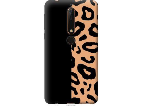 Чехол на Nokia 6.1 Пятна леопарда (4269u-1628-22700)