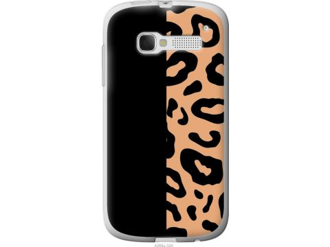Чехол на Alcatel One Touch Pop C5 5036D Пятна леопарда (4269u-324-22700)