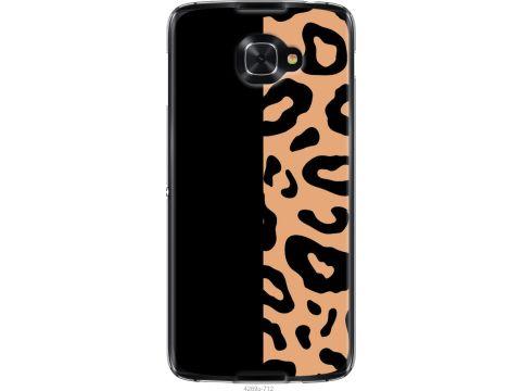Чехол на Alcatel idol 4s Пятна леопарда (4269u-712-22700)