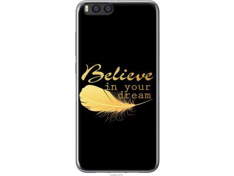 Чехол на Xiaomi Mi Note 3 Верь в свою мечту (3748u-978-22700)