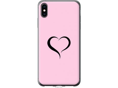 Чехол на iPhone XS Max Сердце 1 (4730u-1557-22700)