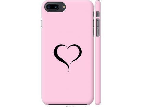 Чехол на iPhone 8 Plus Сердце 1 (4730c-1032-22700)