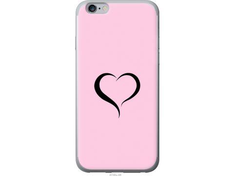 Чехол на iPhone 6s Plus Сердце 1 (4730u-91-22700)