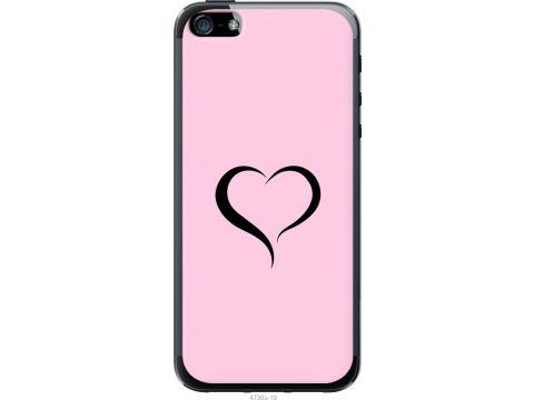Чехол на iPhone 5 Сердце 1 (4730u-18-22700)