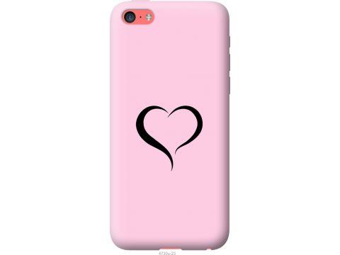 Чехол на iPhone 5c Сердце 1 (4730u-23-22700)