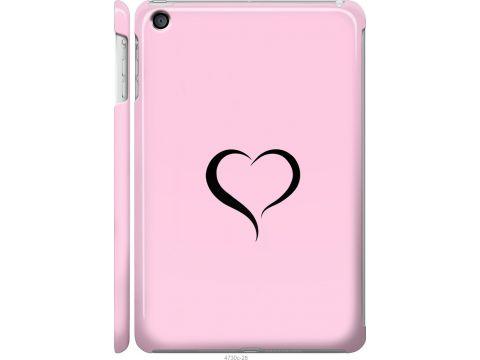 Чехол на iPad mini 3 Сердце 1 (4730c-54-22700)