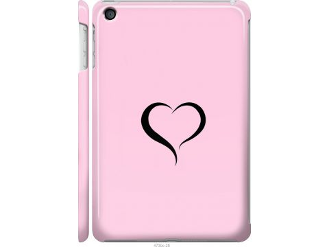Чехол на iPad mini Сердце 1 (4730c-27-22700)