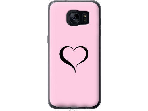 Чехол на Samsung Galaxy S7 Edge G935F Сердце 1 (4730u-257-22700)
