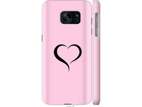 Чехол на Samsung Galaxy S7 G930F Сердце 1 (4730c-106-22700)