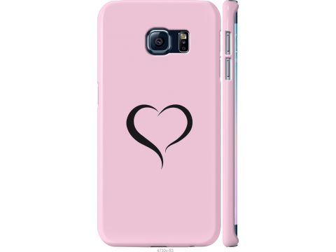 Чехол на Samsung Galaxy S6 Edge G925F Сердце 1 (4730m-83-22700)