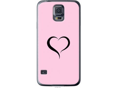 Чехол на Samsung Galaxy S5 g900h Сердце 1 (4730u-24-22700)