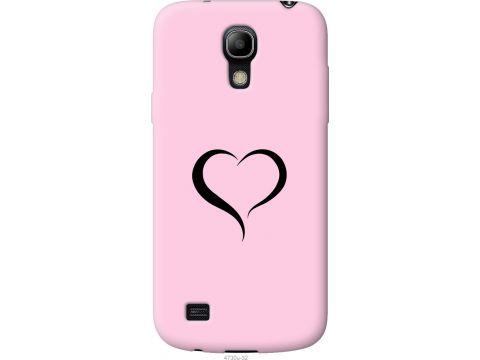 Чехол на Samsung Galaxy S4 mini Сердце 1 (4730u-32-22700)