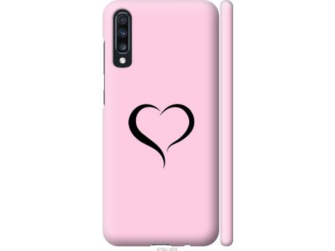 Чехол на Samsung Galaxy A70 2019 A705F Сердце 1 (4730m-1675-22700)