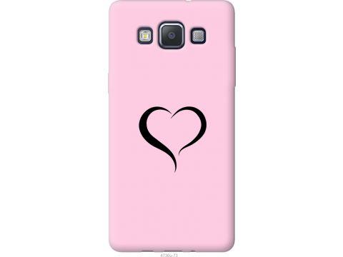 Чехол на Samsung Galaxy A5 A500H Сердце 1 (4730u-73-22700)