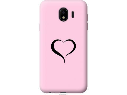 Чехол на Samsung Galaxy J4 2018 Сердце 1 (4730u-1487-22700)
