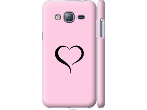 Чехол на Samsung Galaxy J3 Duos (2016) J320H Сердце 1 (4730m-265-22700)