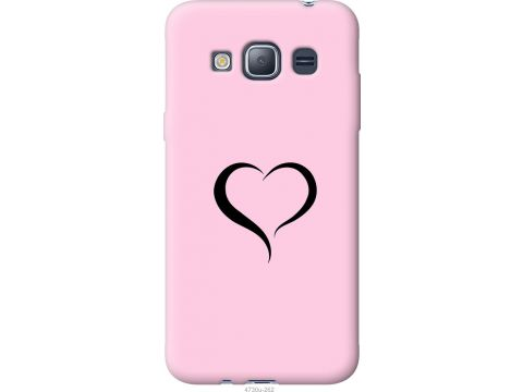 Чехол на Samsung Galaxy J1 (2016) Duos J120H Сердце 1 (4730u-262-22700)